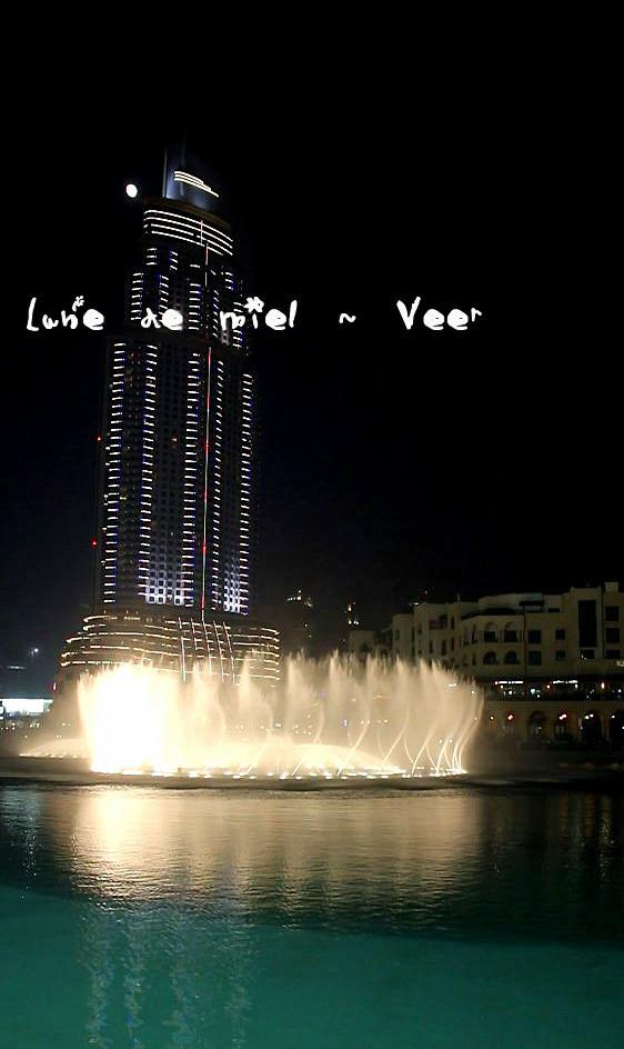 迪拜著名景点手绘图