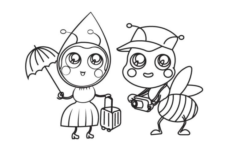 圣诞 吉祥物_第2页_乐乐简笔画