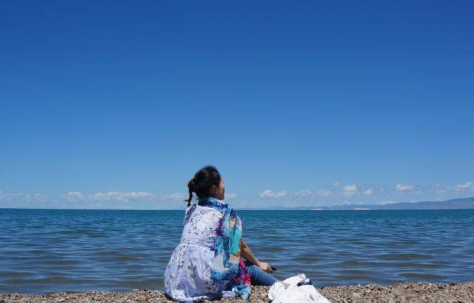 所有相机拍的照片都是原图,只为还原一个真实的青海湖.