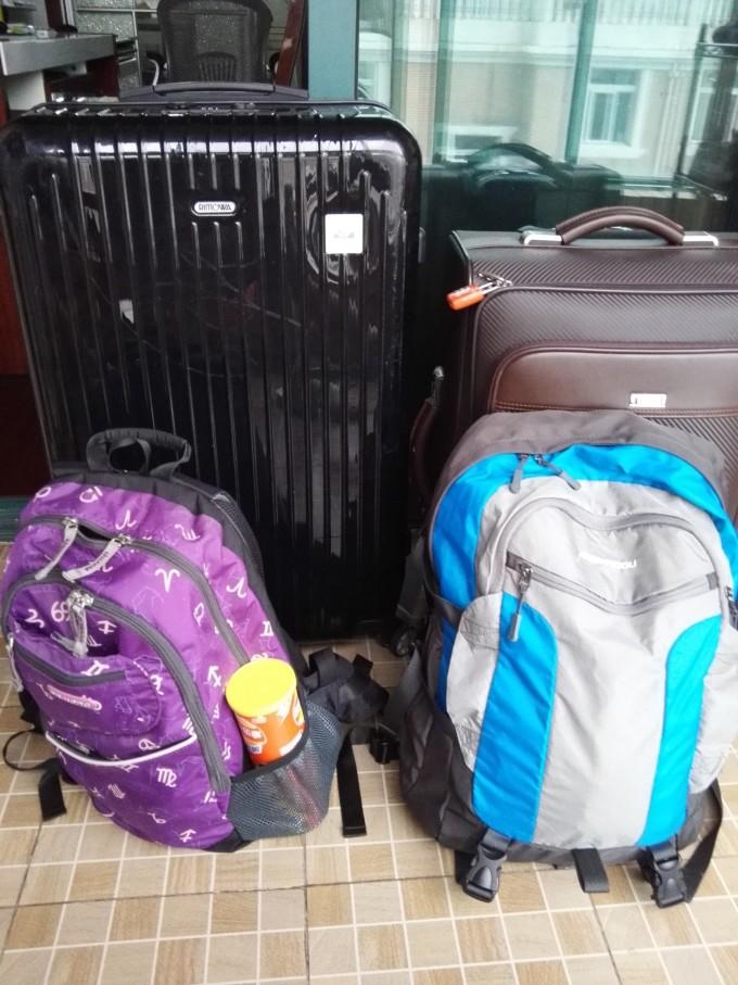像打仗一样托运行李(国内行李每件限重