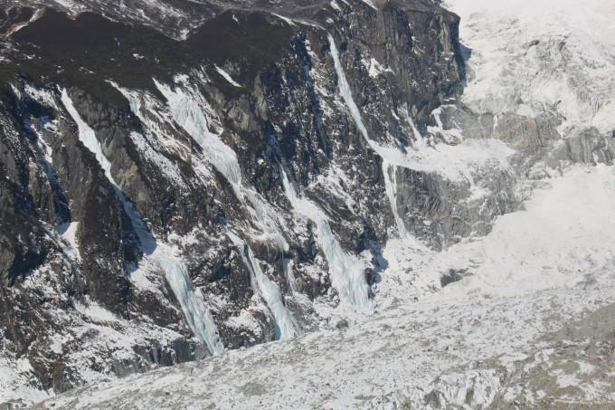 冰与火之歌,包头妹子2016春节海螺沟赏冰川大瀑布五日游