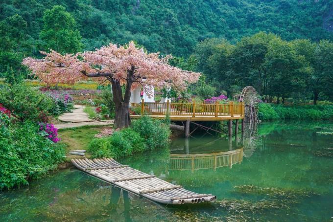 桂林晚上风景图片