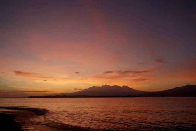 印尼火山海岛行——吉利t岛和m岛(gili trawangan,gili meno)